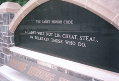 The Cadet Honor Code at the Air Force Academy, like that at West Point, is the cornerstone of a cadet's professional training and development — the minimum standard of ethical conduct that cadets expect of themselves and their fellow cadets. Air Force's honor code was developed and adopted by the Class of , the first class to graduate.